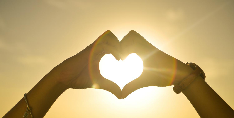 corazón sol